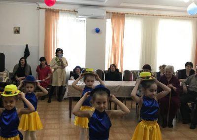 Дети в гостях в «Отделении социальной помощи