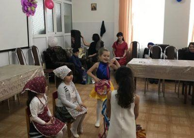 Участвуем в проекте «Волонтёрское движение». В гостях в «Отделении социальной помощи пожилым гражданам и инвалидам».