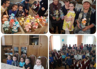 Дети в гостях отделение социальной помощи пожилым гражданам и инвалидам