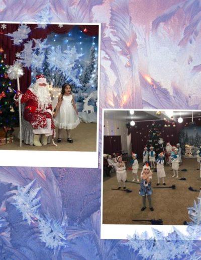 Танец снеговиков , песни и стихотворения- всё для Дедушки Мороза!