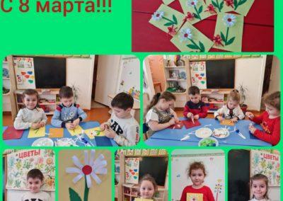 Учимся делать открытки на 8 марта своими руками